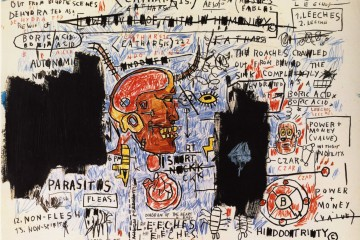 Jean-Michel-Basquiat-Nows-The-Time