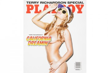 Terry Richardson California Dreaming for Playboy Magazine cover
