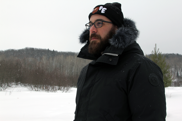 What I Wore In the Great White North-Half Body Toque