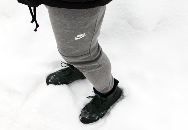 What I Wore In the Great White North-Nike Pants