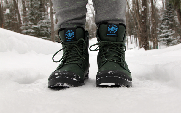 What I Wore In the Great White North-Palladium Boots