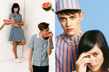 Maison Kitsune 2015 Spring Spring Shake Capsule Collection