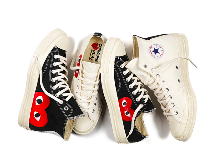 Converse x PLAY COMME des GARCONS Chuck Taylor All Star 70 Collection