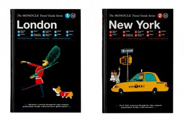 Monocle and Gestalten Present New Travel Guides London New York