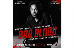 Taylor Swift Bad Blood Music Video Kendrick Lamar