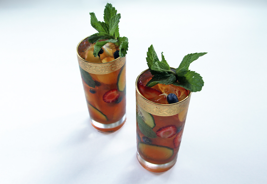 Cocktail Hour Pimms Cup