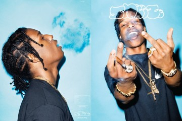 A$AP Rocky On The Cover Of SNEEZE Magazine's 25th Issue-1