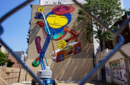 Os Gemeos' Tribute to Hip Hop -1