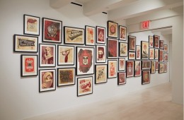 Shepard Fairey's 'On Our Hands' Exhibition Featured at the Jacob Lewis Gallery-1
