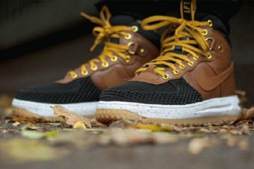 Nike Lunar Force 1 Sneakerboot in 'British Tan'-1