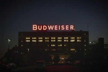 Budweiser Sign St Louis