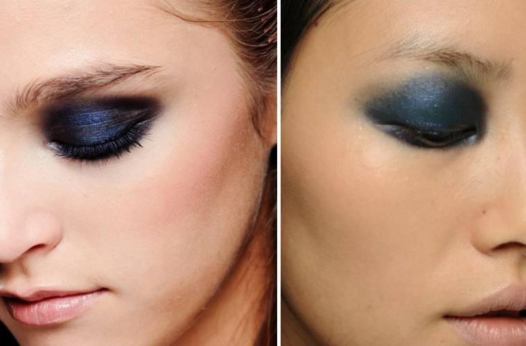 Beauty How To Navy Suede