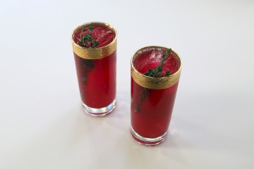 Beet Collins Cocktail
