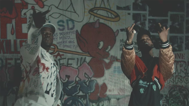 ASAP Ferg Tory Lanez Line Up The Flex Music Video