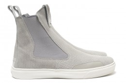 Stone Island Shadow Project Suede Slip On Boot