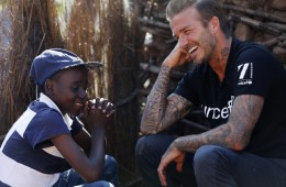 David Beckham UNICEF Charity VIsit 1