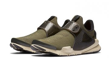 Nike's Sock Dart Gets An Olive Overhaul-1