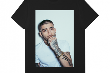Zayn Malik Tour Merch Tee 2