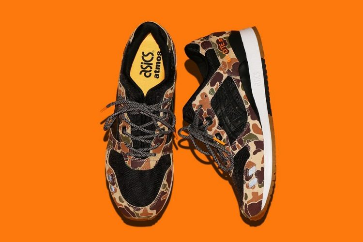 atmos x ASICS Present the GEL-Lyte III Duck Camo-1