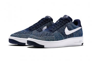 Nike Drops the Air Force 1 Flyknit in Navy-1