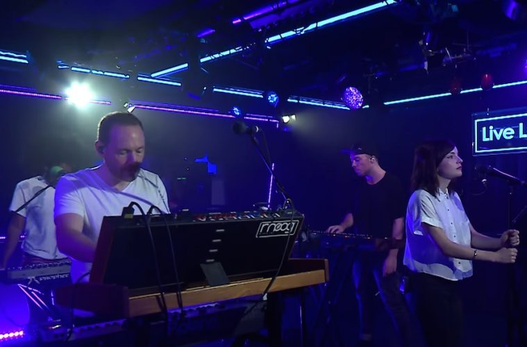 CHVRCHES TIWYCF Live Lounge