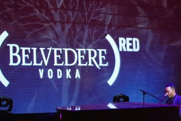 John Legend Apollo Theater Belvedere RED