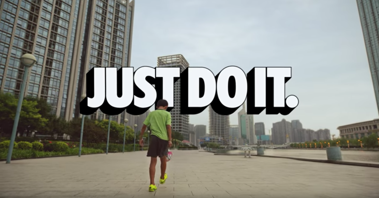 nike slogan just do it ...