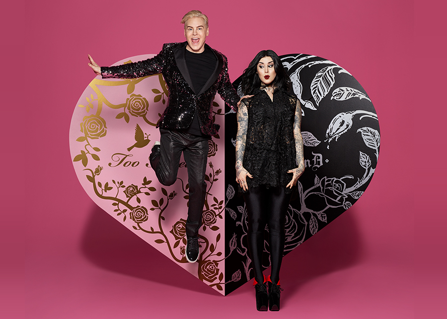 Makeup maven Kat Von D has teamed up with Jerrod Blandino, co-founder ...: sidewalkhustle.com/a-kat-von-d-x-too-faced-makeup-collection-is-coming