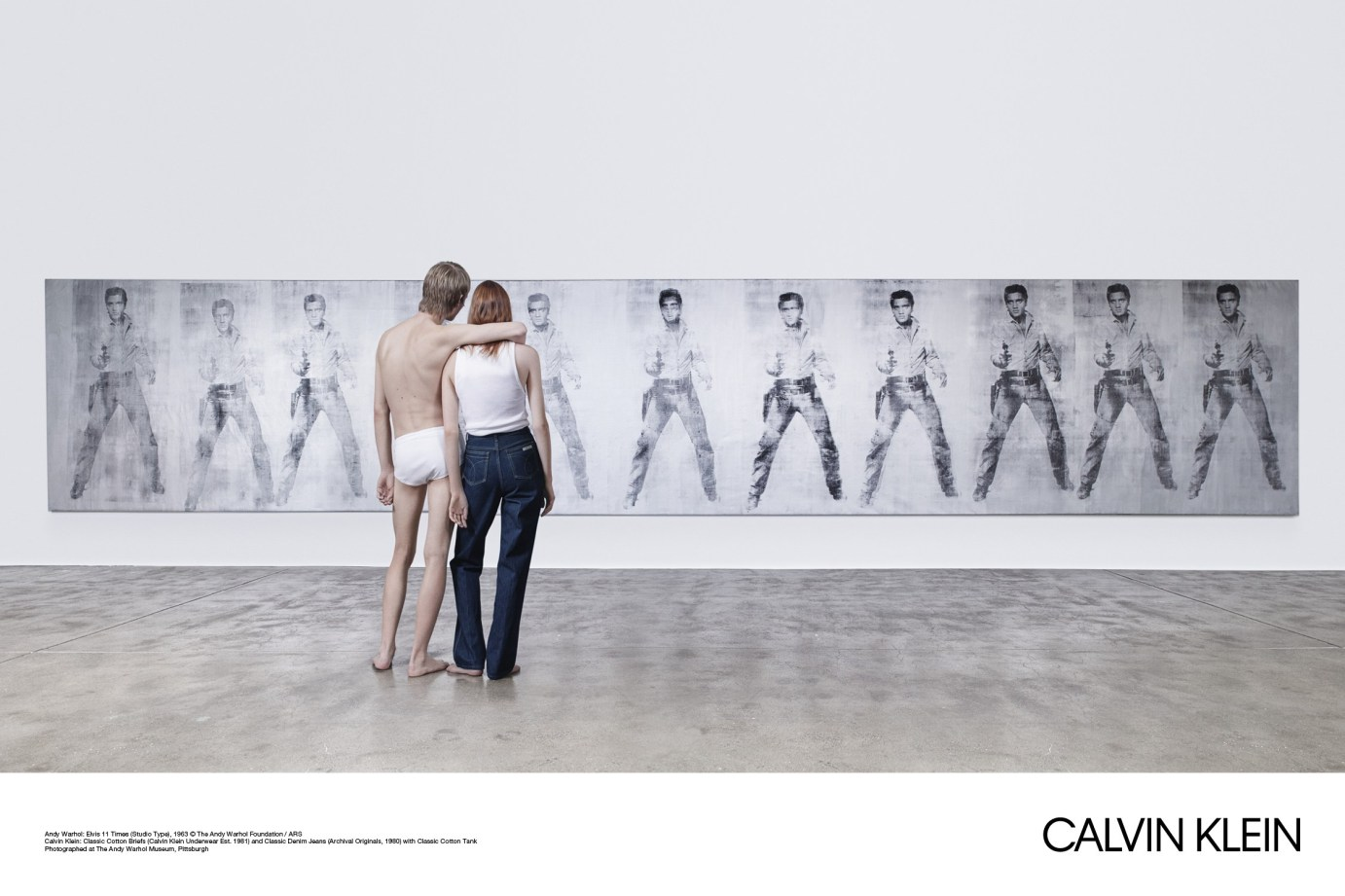 Raf Simons Unveils His First Calvin Klein Campaign ...